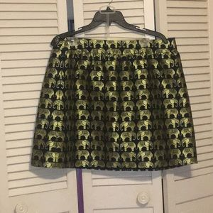 Crown & Ivy black and gold skirt